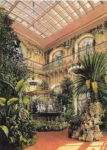 Los palacios de los Romanovs Wintergarden