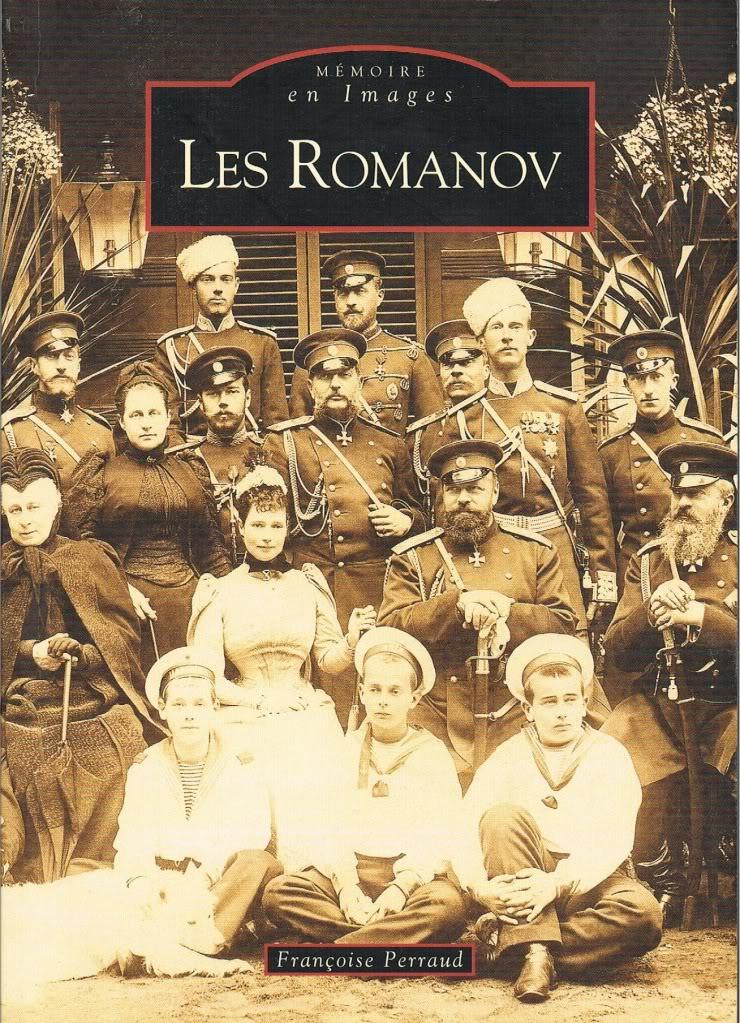 Libros dedicados a la Familia Imperial rusa - Página 2 Lesromanovcover001