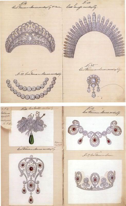 Grandes duques y G. Duquesas: Jorge, Xenia y Olga - Página 2 Rusgdxenia18lc