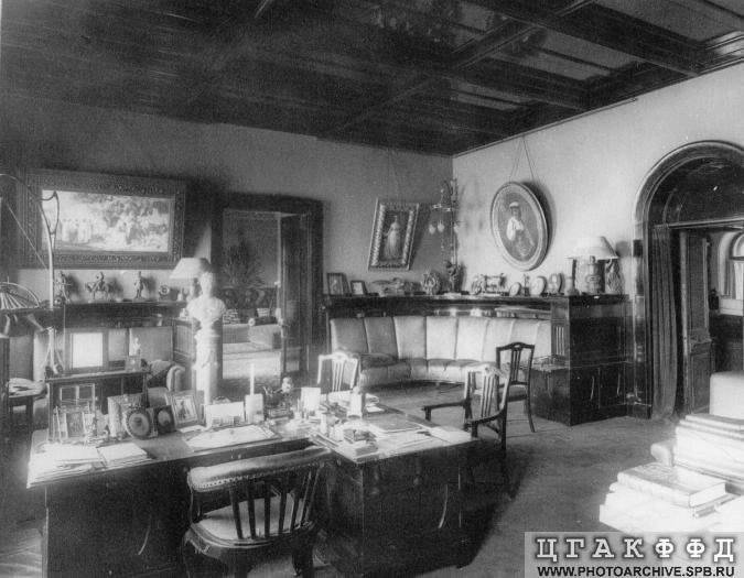 Los palacios de los Romanovs StudyofGrandDukeVladimirAlexandrovi