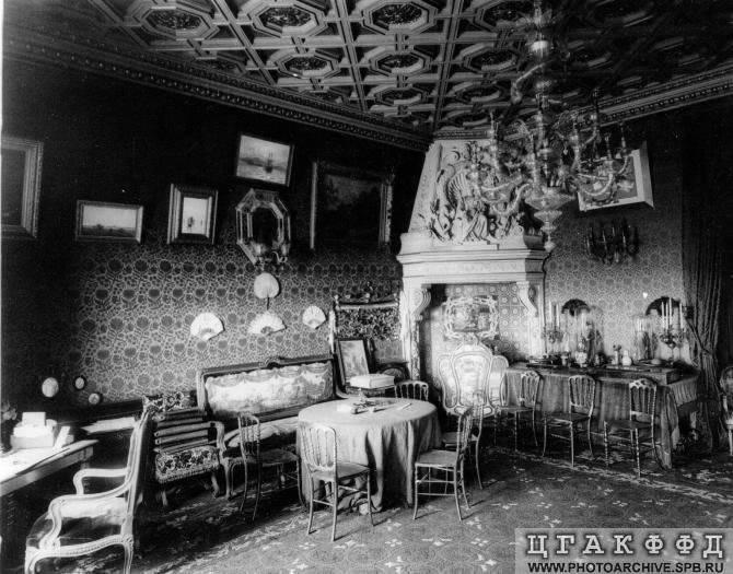 Los palacios de los Romanovs TheroomofGrandDukeBorisVladimirovic