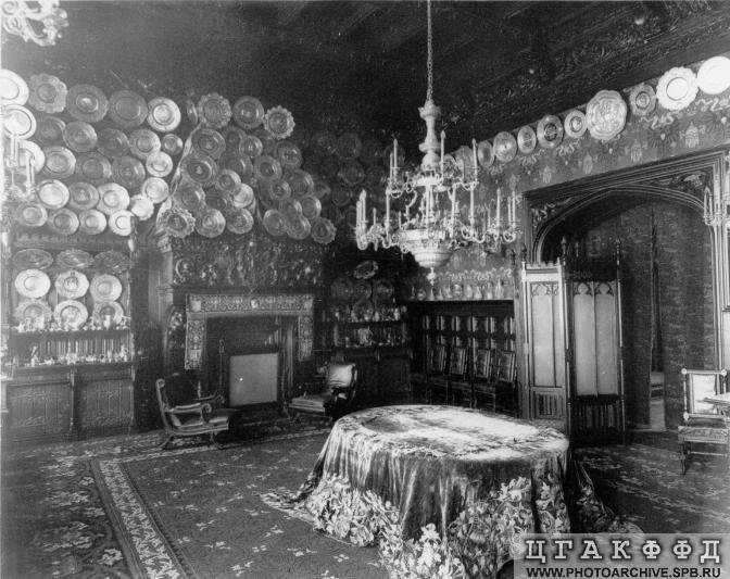 Los palacios de los Romanovs Minordiningroom