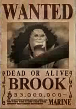 تقرير عن ون بيس OnePieceWanted-Brook