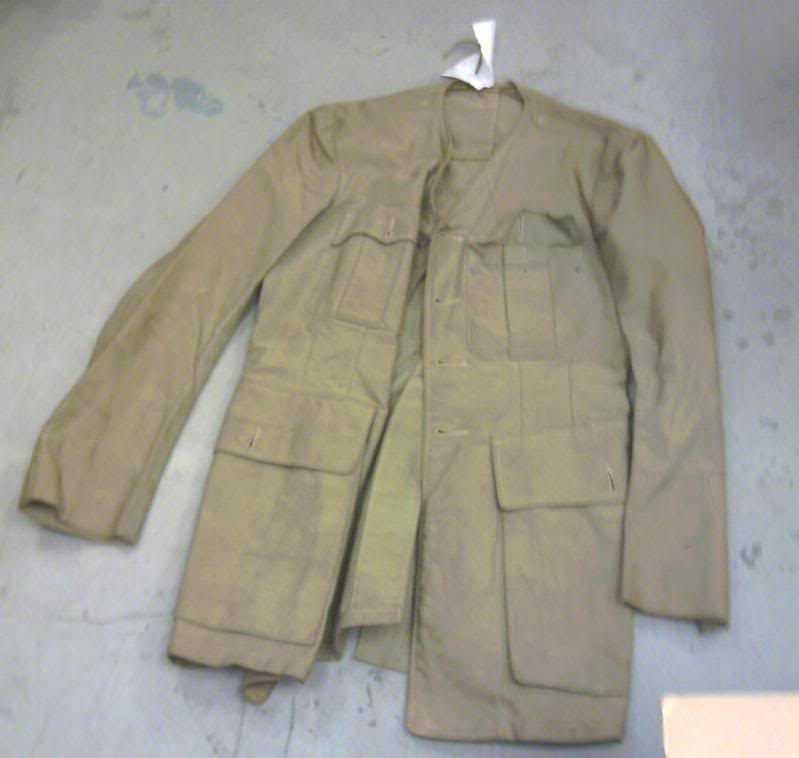 Officer's Khaki Drill tunic Tunic002