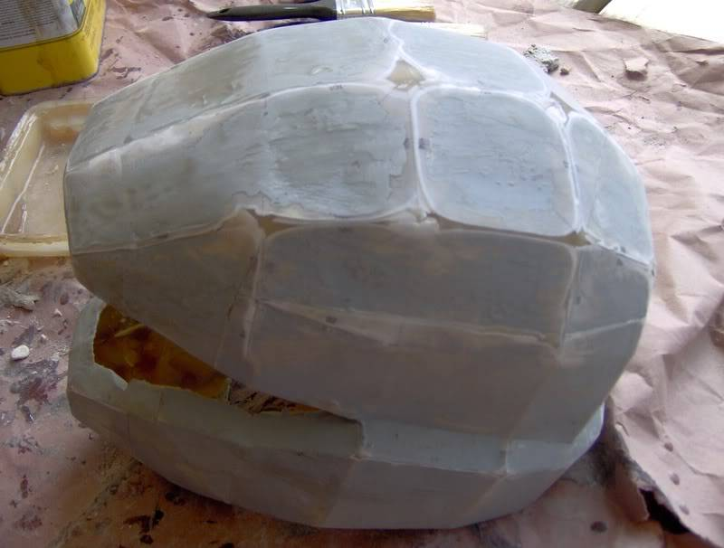 Pepakura Fiberglass and Smoothing Tutorial - Borrowed from the 405th ODST