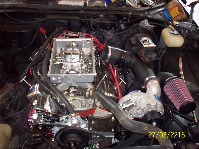 My Brothers 1975 Chevelle Engine015-1
