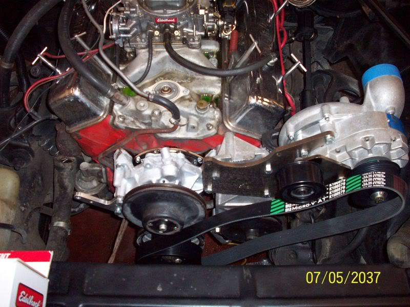 My Brothers 1975 Chevelle Engine1-1