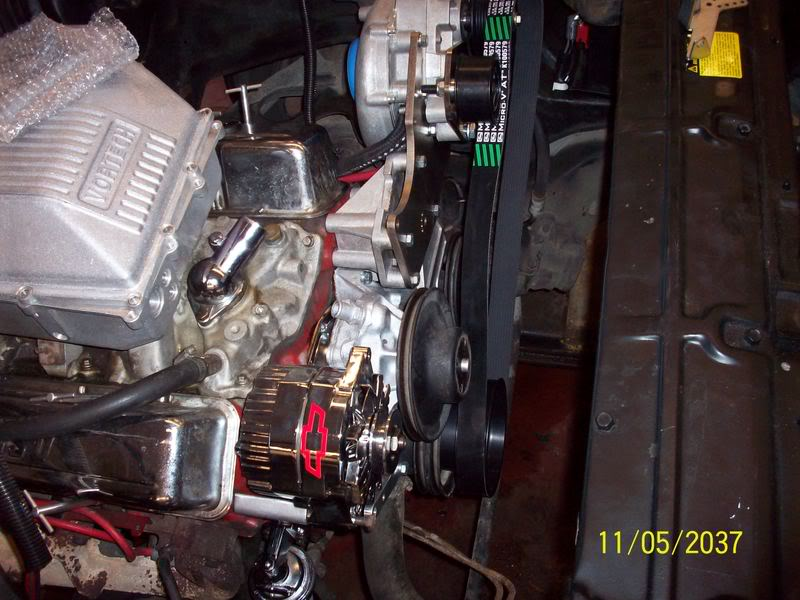 My Brothers 1975 Chevelle Engine15-1