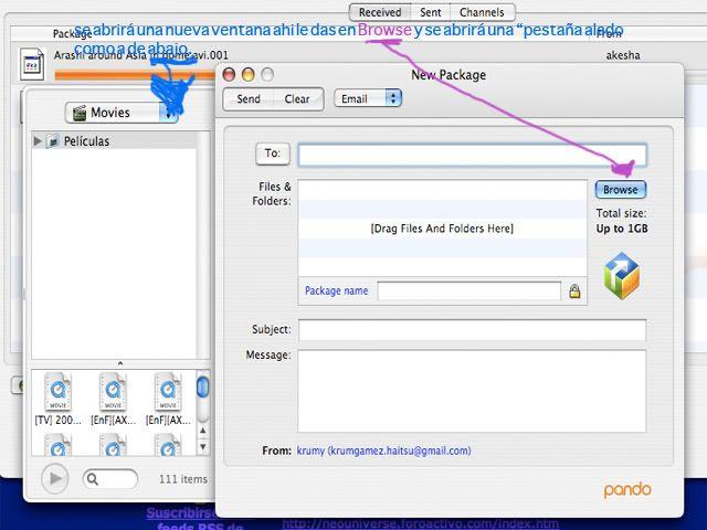 Aprende a Subir archivos por pando! 2