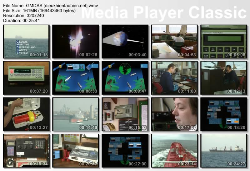 Hệ thống cấp cứu và an toàn hàng hải toàn cầu GMDSS GMDSS_VIDEO