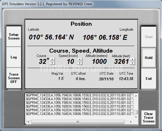 SailSoft GPS Simulator v3.2.1 - Phần mềm mô phỏng GPS GPS_simulator