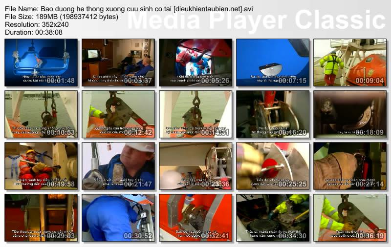 Bảo dưỡng hệ thống xuồng cứu sinh có tải Baoduonghethongxuongcuusinhcotai