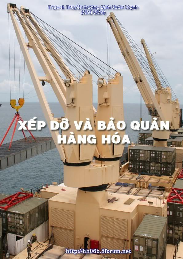 Giáo trình Xếp dỡ và bảo quản hàng hóa BiaXepdo