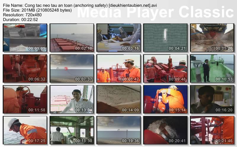 Công tác neo tàu an toàn (anchoring safely) Congtacneotauantoan