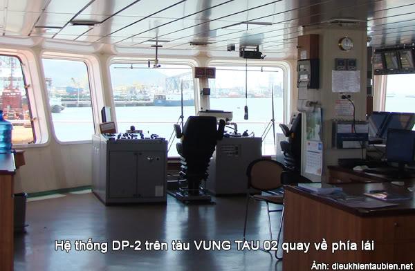 Giới thiệu cơ bản về Hệ thống định vị động (Dynamic Positioning System) DPS41