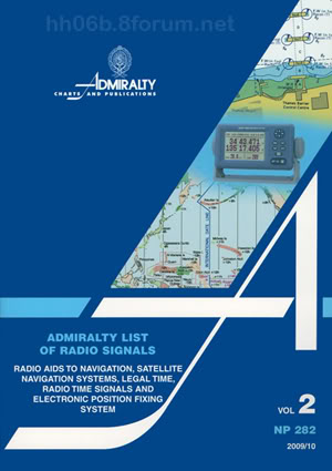 NP282 - Admiralty List of Radio Signals (Volume 2) NP2822