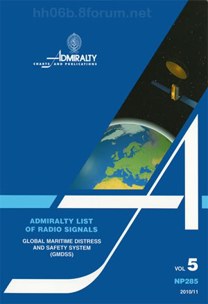 NP285 - Admiralty List of Radio Signals (Volume 5) NP2855