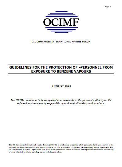 Một số ấn phẩm của Diễn đàn hàng hải quốc tế các công ty dầu (OCIMF) OCIMF_7