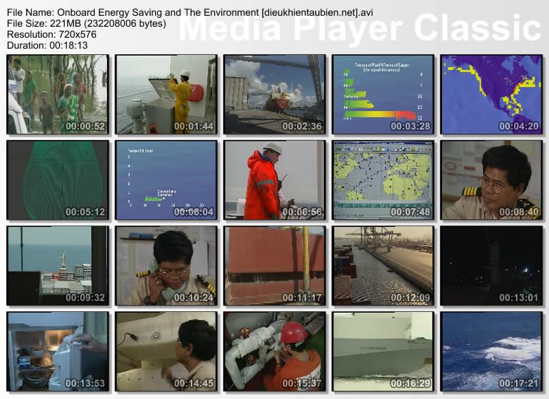 Tiết kiệm năng lượng và vấn đề môi trường trên tàu OnboardEnergySavingandTheEnvironment