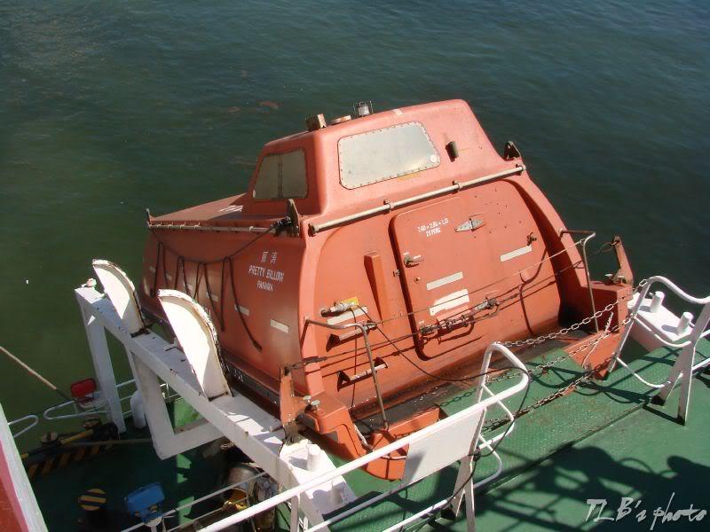 [Hình ảnh] Thực tập hạ xuồng cứu sinh 002