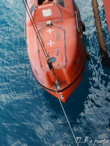 [Hình ảnh] Thực tập hạ xuồng cứu sinh 012