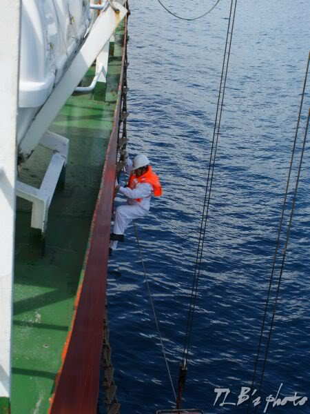 [Hình ảnh] Thực tập hạ xuồng cứu sinh 018
