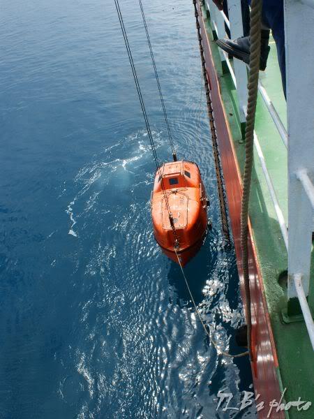 [Hình ảnh] Thực tập hạ xuồng cứu sinh 040