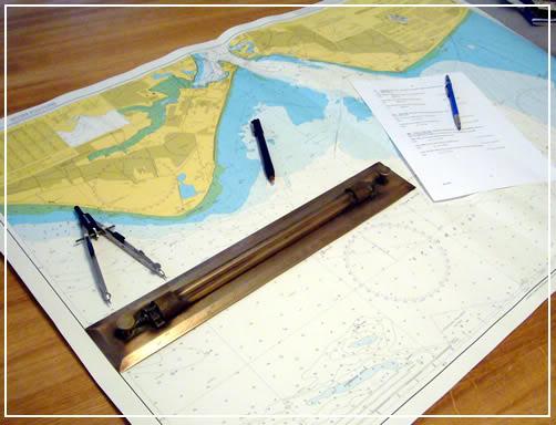Hải đồ - an toàn chạy tàu và đáp ứng yêu cầu của PSC Chart1