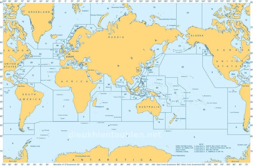 Admiralty Sailing Directions (Pilot Books) đủ bộ Pilot_books