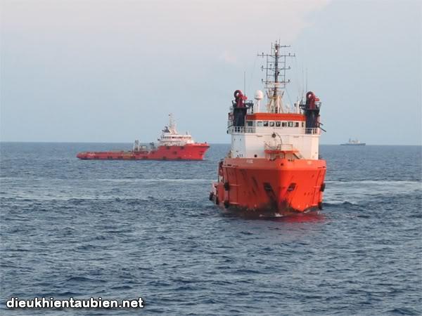 Offshore Anchor Handling - Làm neo ở tàu dịch vụ Vungtau02_1