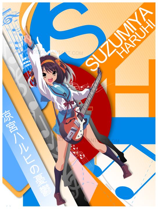 Anfitriona Yuzuyu Haruhi de la *Rosa Amarilla* Suzumiya_Haruhi_by_DivineKaze