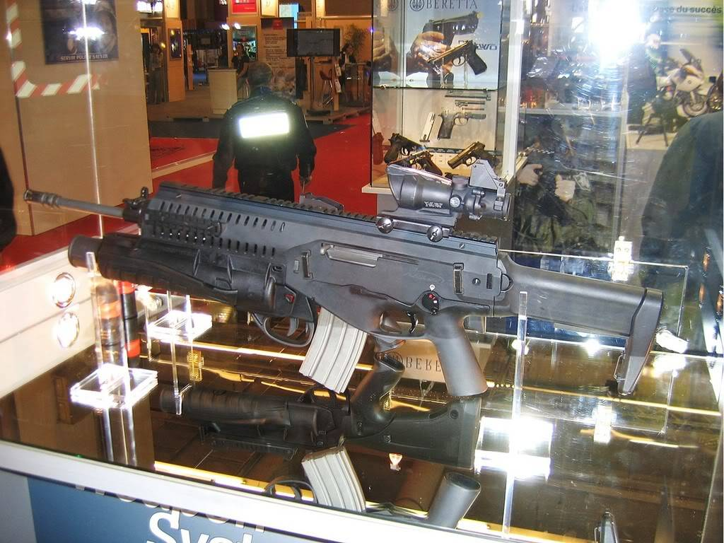 MILIPOL 2007 Paris Beretta1