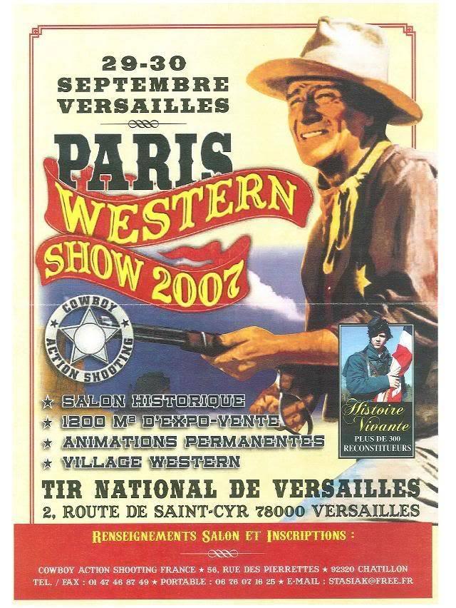 Western day à Versailles Paris_western_show_2007