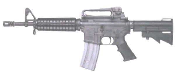 Comment faire une peinture Camo, sur AR-15 Commando A2F12_1