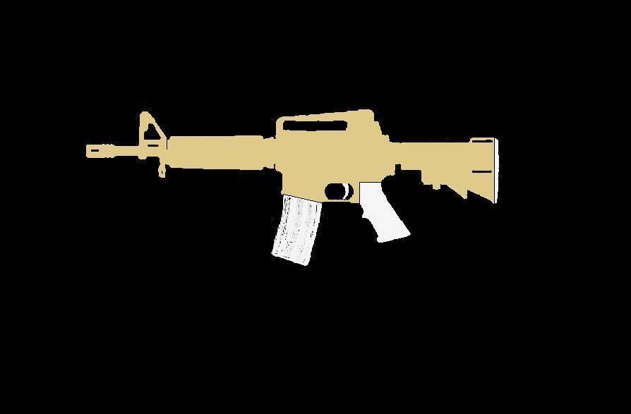 Comment faire une peinture Camo, sur AR-15 Commando ProjetARCAMO02