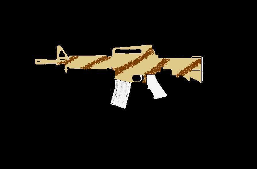 Comment faire une peinture Camo, sur AR-15 Commando ProjetARCAMO05