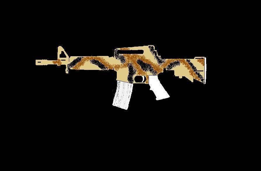 Comment faire une peinture Camo, sur AR-15 Commando ProjetARCAMO06