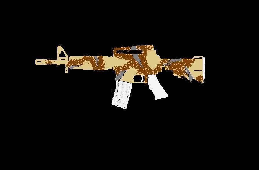 Comment faire une peinture Camo, sur AR-15 Commando ProjetARCAMO08