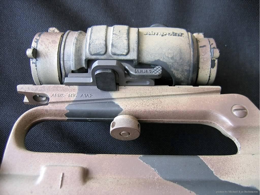 Comment faire une peinture Camo, sur AR-15 Commando Arup02