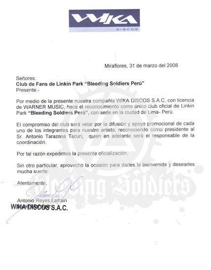 Oficialización de Bleeding Soldiers Peru! Ofw-marked