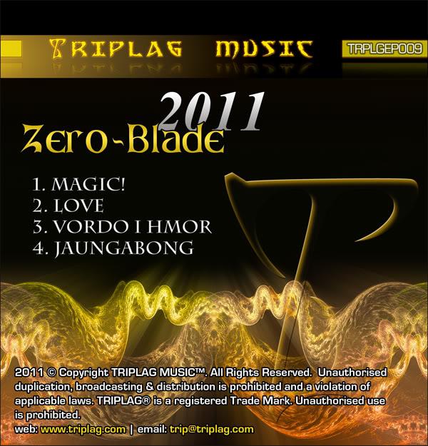 Zero-Blade - 2011 EP (Triplag Music) ZB-EPCover