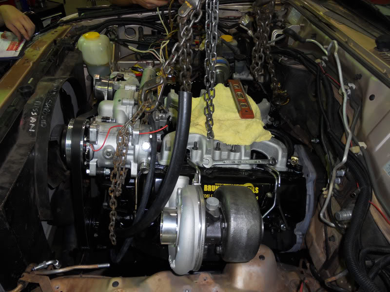 Chevrolet 6.5 litre in Patrol NissroletProgress111011