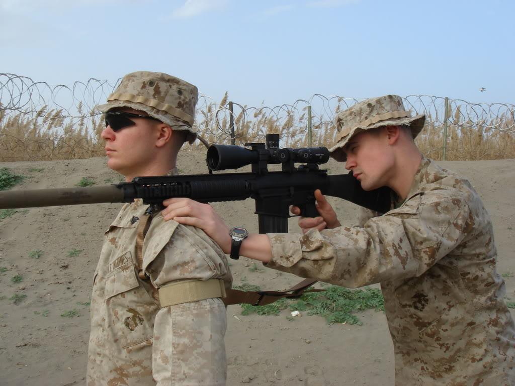 Lunette S und B en dotation dans l armee US DSC00309