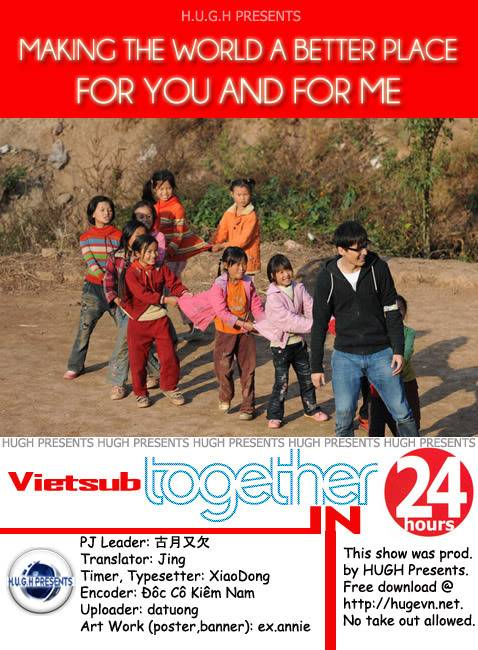[Viet Sub] Special PJ Together in 24 hours - Hồ Ca 24H11