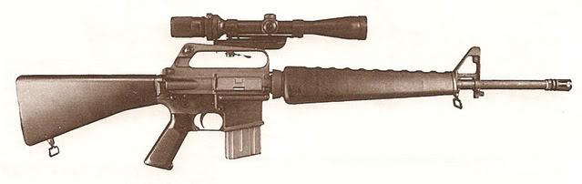 Rol Tirador Selecto  Model655sniperriflejb6