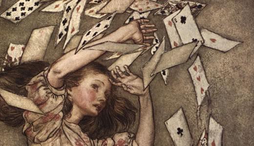 Alicia en el País de las Maravillas, de Lewis Carroll. ArthurRackman
