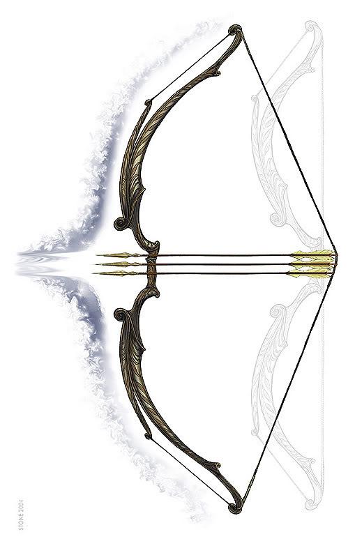 Queen Saelith (Cannon) ElvenLongBow