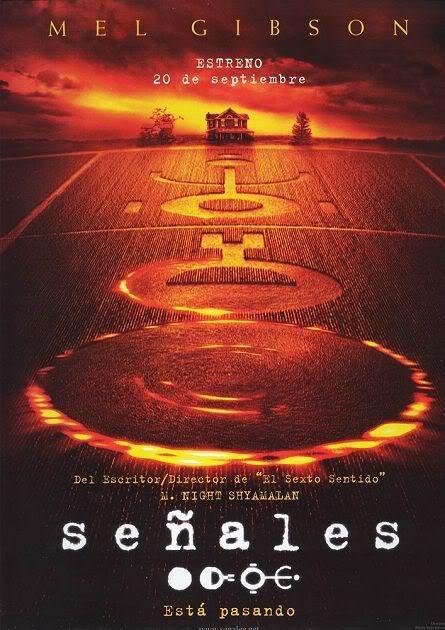 señales - pelicula sobre extraterrestres de: Mel Gibson Senales