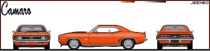 Võistlusautode reeglid Chevroletcamaro2