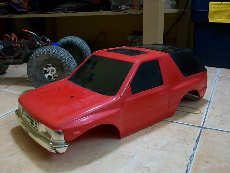 My Amigo Scaler Rebuild / Adventures Body03